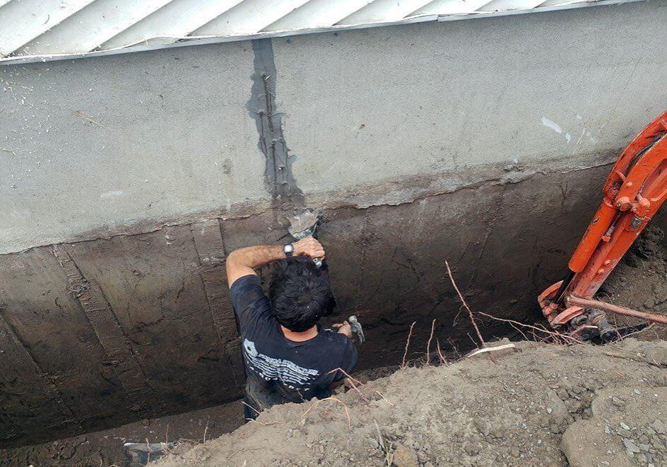 réparation fissure de fondation